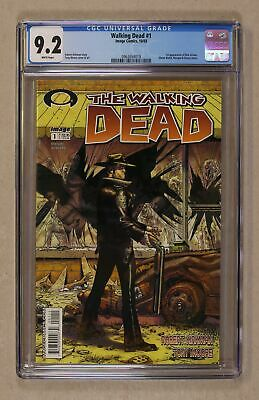 Walking Dead 1a 1st Printing Cgc 9.2 2003 0962654019