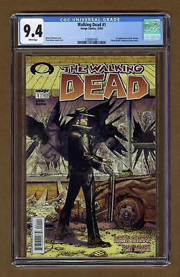 Walking Dead 1a 1st Printing Cgc 9.4 2003 1289091001