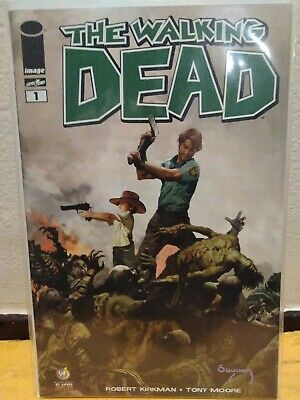 The Walking Dead 1 2013 Reprint Variant Cover Wizard World Exclusive 9.8 Nm/m
