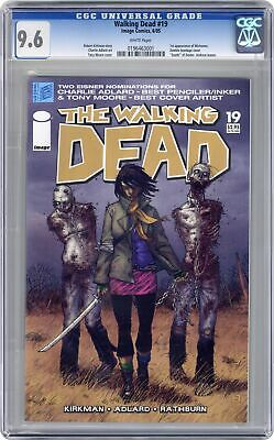 Walking Dead #19 Cgc 9.6 2005 0196463001 1st App. Michonne
