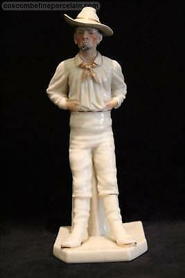 Offer Superb Royal Worcester Porcelain Figurine Yankee Countries World Hadley