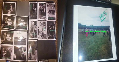 Night Of The Living Dead Signed Photo 15 George Romero The Walking Dead Horror