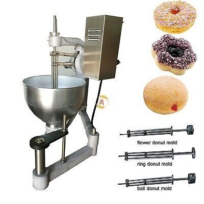 9l Commercial Electric Automatic Donut Machine Doughnut Maker With 3 Molds