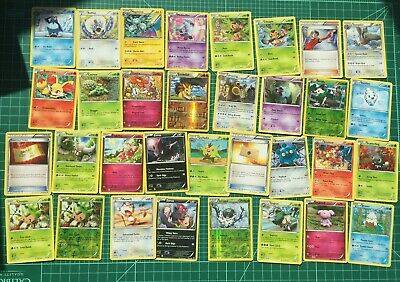 Pokemon XY Breakthrough Singles (Common, Uncommon, Rare) Sets