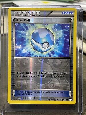 Dive Ball  125/160 X&Y: Primal Clash Reverse Holo NM/Mint Pokemon