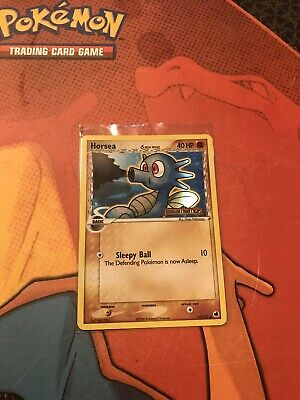 pokemon card Horsea Holographic dragon frontiers