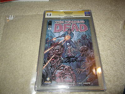 Cgc Walking Dead #1 Ss 9.8 Signed By Neal Adams Nyc Wizard Variant !!!!