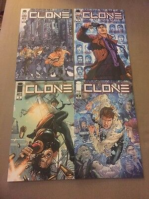 Clone #1 2 (missing 3) 4 5 1st Print Vf+ To Nm Image Comics Skybound