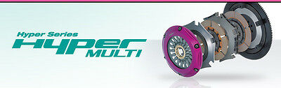 Exedy  Triple Plate Clutch For Lancer Evolution Vcp9a (4g63)mm022sd