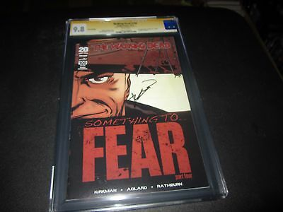 Rare Walking Dead #100 Extremely Rare 3rd Print Cgc 9.8 Signed By Robert Kirkman