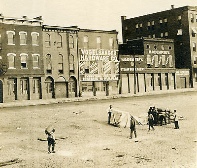 Vintage Cape Girardeau Mo Great Flood 1927 ? Steamboat Agent Mississippi Photo