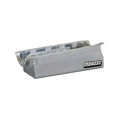 Moroso 20032 Oil Pan Steel Clear Zinc 7 Qt. For Chevy Big Block