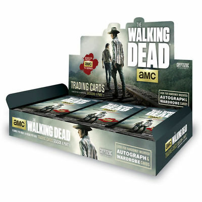 Cryptozoic The Walking Dead Season 4 Part 1 Hobby Case