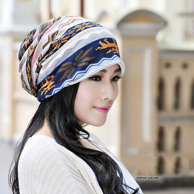 Головной убор Knitted Hat Double Layer