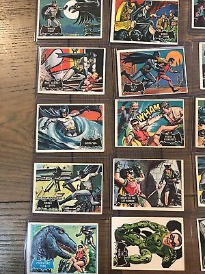 Batman Cards 1966 Vintage 77 Cards In All Nice Real Nice
