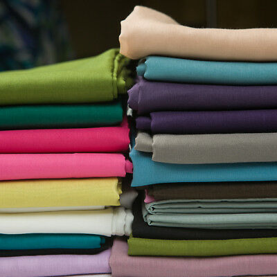 Ткань Solid Multicolor silk blends cotton