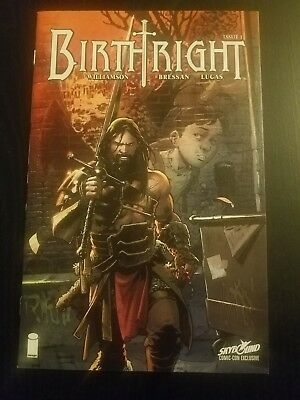 Birthright #1 Skybound Nycc  Exclusive Lot Of 10 Books Image Comics Movie