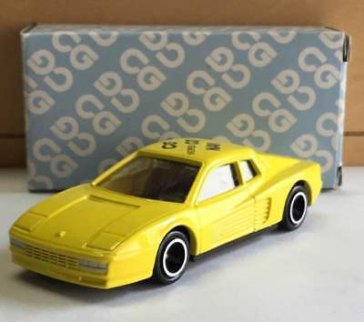 Tomica Ferrari Testarossa Red Box Foreign Car Series Vintage Rare From Japan F/s
