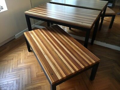 Crate & Barrel Parsons Dining And Coffee Tables