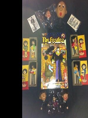 vintage beatles dolls lot  private collection remco,yellow submarine more