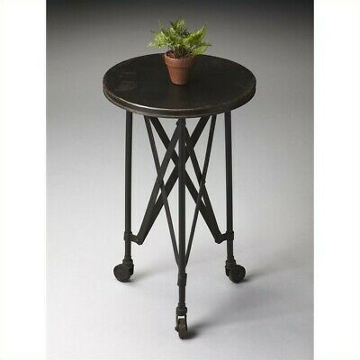 Butler Specialty Metalworks Round Iron Accent Table In Black