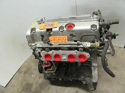 Rsx 2.0l Engine Motor Vin 6 8 Fits Manual Transmission Cylinder Head Block Oem