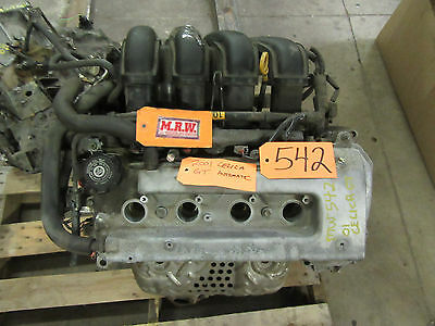 00-05 Celica Motor 1zzfe 1zz-fe Engine 1.8l 1800 Vin R Head Block Oil Pan Cover