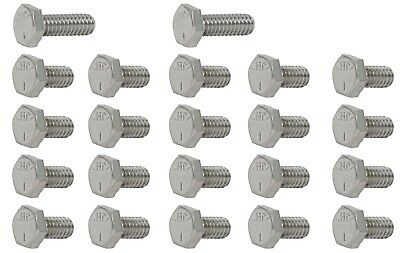 Oil Pan Bolt Kit Chevrolet Big Block 396-454 Chrome Hex Head With Washers