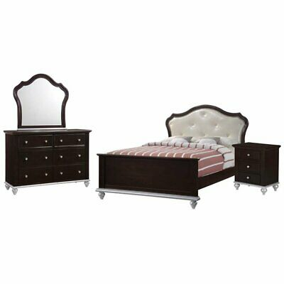 Picket House Furnishings Alli 4 Piece Full Platform Bedroom Set