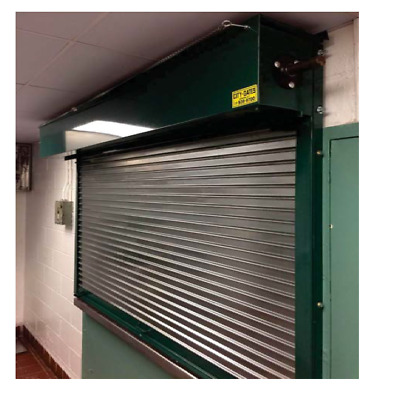 Free Shippng Counter Shutter Roll Up Door 6w X 4h Galvanized Steel
