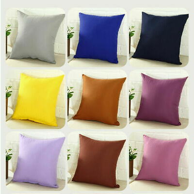 """Pillowcase Party Candy Color Throw Pillow Cover Cushion Case Size 16"""" 18"""" 20"""" 24"""