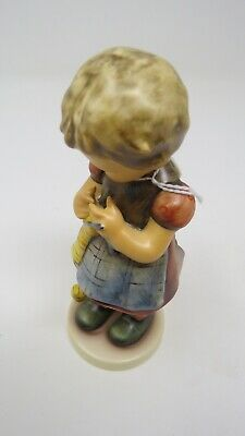 """Hummel Gobble  Figurines Large """"a Stitch In Time"""""""