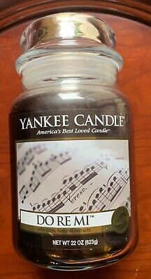 Yankee Candle Do Re Mi 22 Oz Large Jar Candle My Favorite Things