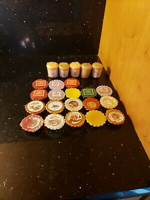 Yankee Candle Tart/ Votive Lot Of 23 Pcs Country Kitchen & Other Vintage Tarts