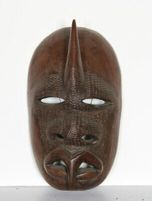 Face With Pointed Lips (26), Hand-carved Wooden Mask