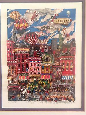 !!!!  Fazzino  !!!!  Fun Day N.y.   !!!! Sold Out , Signed And Numbered !!!!