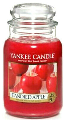 Yankee Candle Candied Apple 22 Oz Large Jar Retired Htf Rare New Usa