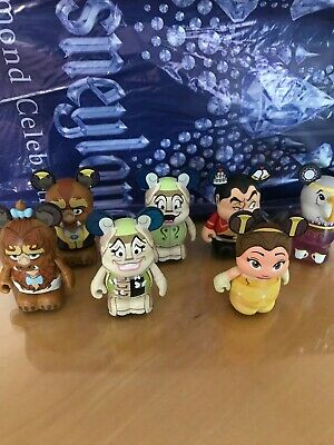 Disney Vinylmation Beauty And The Beast 2 - Not Full Set But With Two Variants