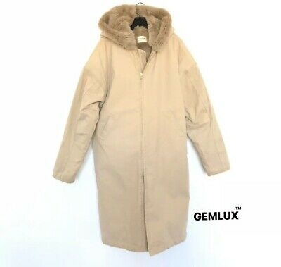 Fear Of God Sixth Collection Faux Fur-lined Hooded Parka Size L Rrp £1830