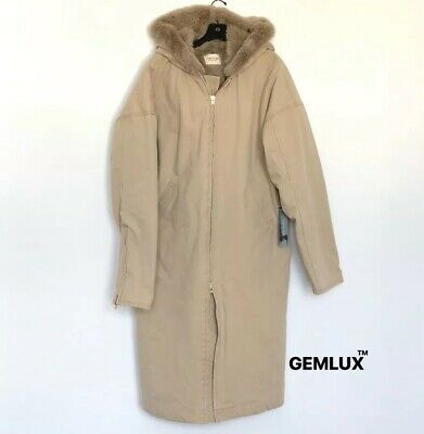 Fear Of God Sixth Collection Faux Fur-lined Hooded Parka Size Xl Rrp £1830