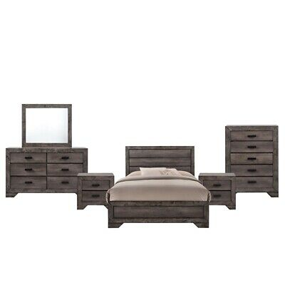 Picket House Furnishings Grayson Youth Full Panel 6pc Bedroom Set
