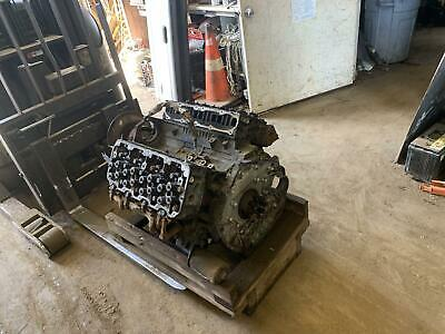 Engine Assembly Chevy Silverado 2500 07 08 09 10 6.6l Core Diesel Spins 360
