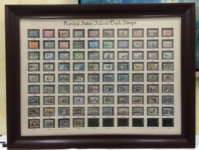 Rw1-rw84(1934-2017) Federal Duck Stamp Collection-unsigned As Shown-with