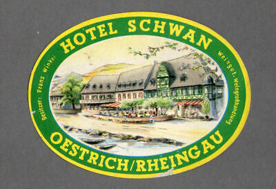 Hotel Luggage Label Very Pretty . Country Unknown #541
