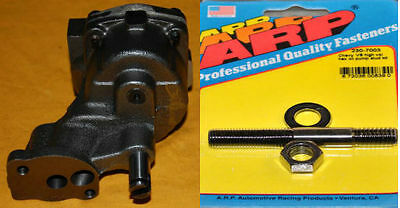 Arp Sbc Small Block Chevy Melling High Volume Oil Pump M55hv With Stud Kit