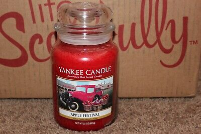 Yankee Candle Apple Festival Deerfield Village Exclusive~vhtf~rare~autumn/fall