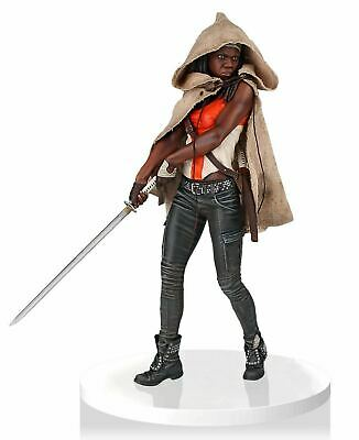 Amc The Walking Dead Statue 1  4 Michonne Danai Gurira 17 5/16in Gentle Giant