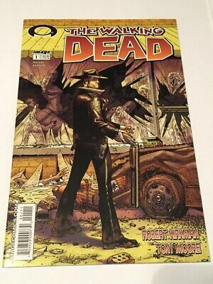 The Walking Dead #1 (oct 2003, Image) High Graded First Appearance Rick Grimes