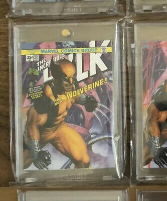 2016 Marvel Masterpieces What If #90 Wolverine #1/50!! Tier 4 Odds 1:288 Vhtf🔥