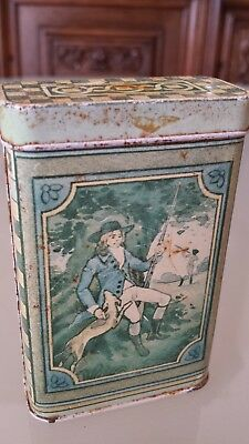 Old Vintage Metal Soap Box From England